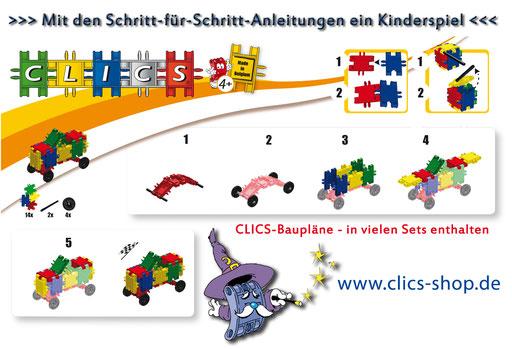 CLICS Baupläne