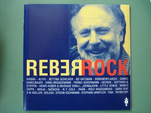 "JOHN & JOHN mit 3 Songs auf ""ReberRock"", mit de Songs: ""Transatlantik-Blues"", ""Ueli spring"", ""Dr Sunne entgäge"" (mit Peter Reber!!)"