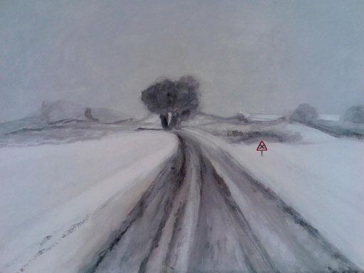 peinture de paysage sur toile