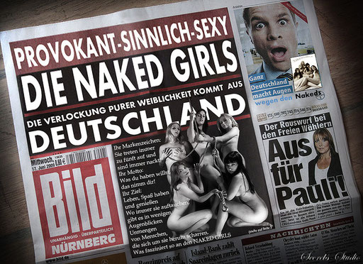 Die *Naked Girls* in der BILD