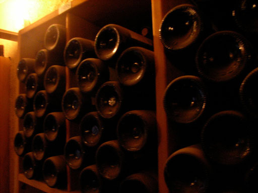 Cellar of Mas de Cadenet Provence