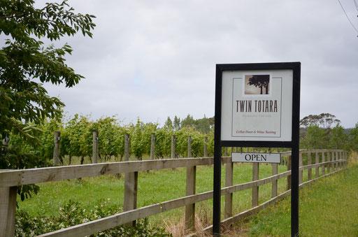 Twin Totara vineyard, Waimauku