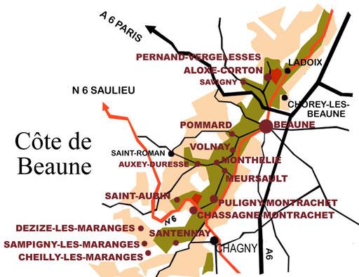 Map credit: Burgundy & Beyond