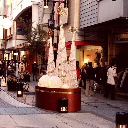 元町もクリスマスモード