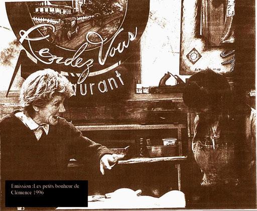 Radio Canada; Les petits bonheur de Clémence 1996