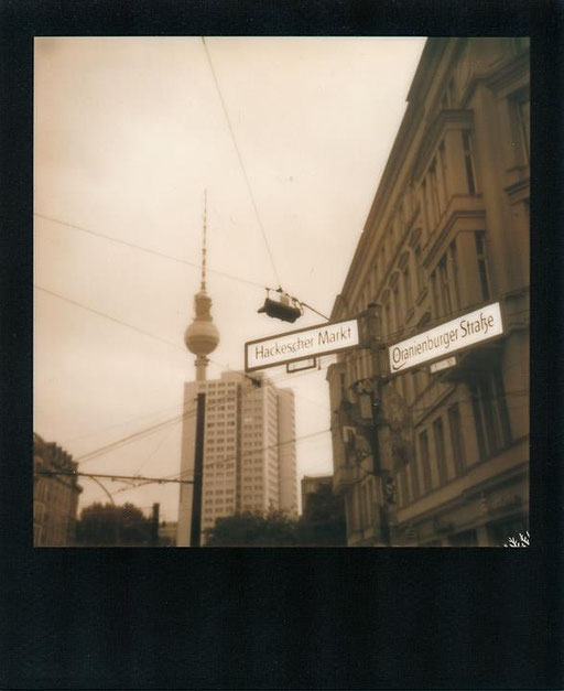 Since a lot of time I took my Polaroid for a walk through Berlin - more images coming soon :)