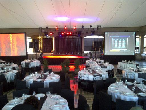Eventos Empresas Apoyo BTL & Marketing Ra2Chile Refuerzo Audiovisual