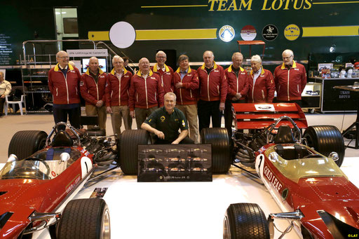 Lotus 49 .  Painting . Automobilia . Chapman .