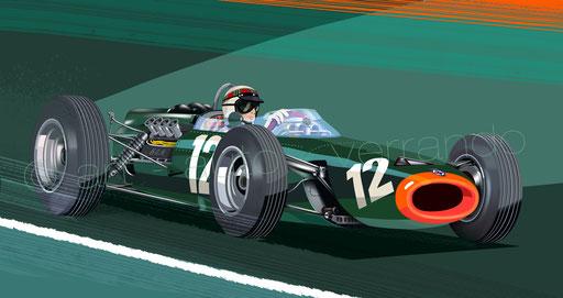 Jackie Stewart BRM P261 - (plusieurs formats disponibles sur demande)