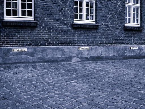 Parken erlaubt....aber nicht für Alle....