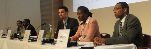 Alexander SIPUA, 6th German - African Energy Forum Hamburg / Germany