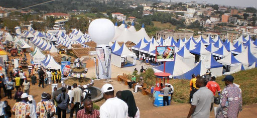 SIPUA Consulting - Internationale Fachmesse, PROMOTE 2011 in Yaoundé / Kamerun