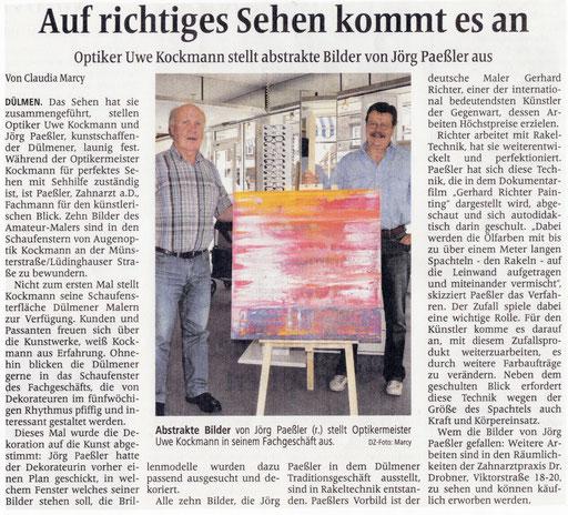 aus: Dülmener Zeitung vom 17.07.2014