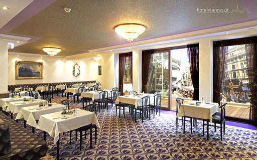 Hotel Vienna Frühstück