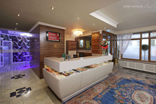 Hotel Vienna Rezeption
