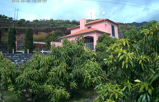 casa da manga sur l'île de Madère