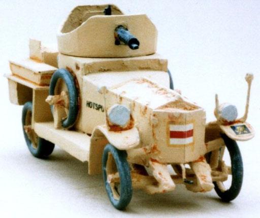 Automitrailleuse Rolls Royce 1914 Moyen-Orient