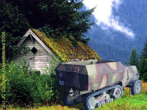 Munitions Zugkraftwagen auf Somua MCG S307 (f)