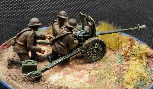 Artilleurs pour canon 25mm (R72483)