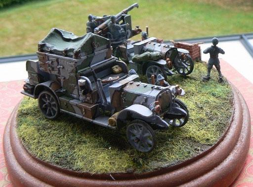 Auto-caisson De Dion-Bouton (véhicules vendus séparément)