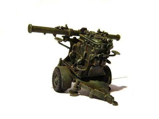 Remorque conduite de tir pour batterie 75mm mod.32