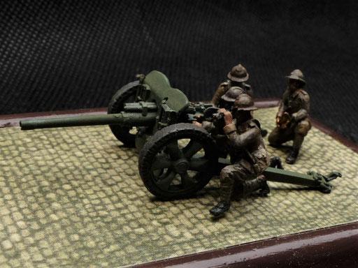 Figurines vendues sans le canon