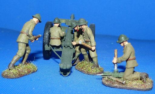 Artilleurs pour canon 75mm (R72485)
