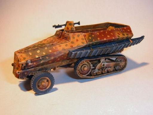 Pionier Panzerwagen auf Somua MCG S307 (f)