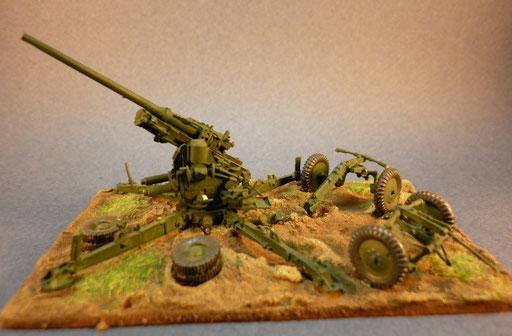 Canon anti-aérien de 75mm modèle 32