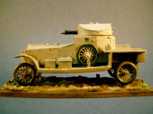 Automitrailleuse Rolls Royce 1914 Europe