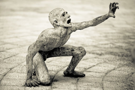 Artikel vom 16.01.2013..............Bild: Sculpture by Kenneth Treister at the Miami Holocaust Memorial