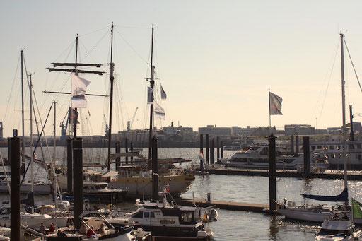 Hamburgs Yachten...