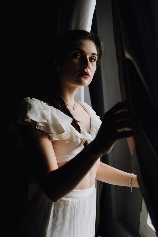 Shooting d'inspiration : Blanche Neige Remake - Crédit photo : @justineHphotographyticolibripictures