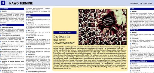 Fotoausstellung Fritsch Waldhufendorfkinder