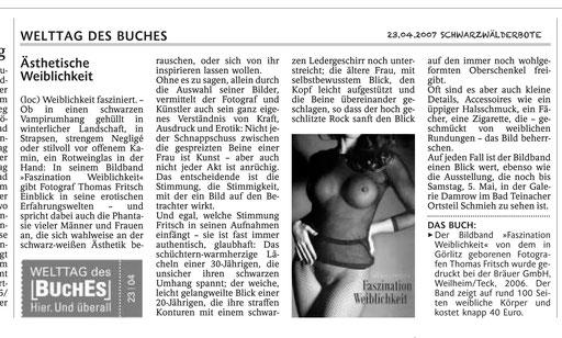 Bildband Fritsch Faszination Weiblichkeit