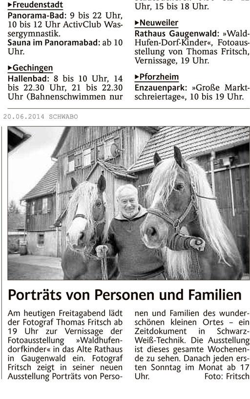 Ausstellung Thomas Fritsch