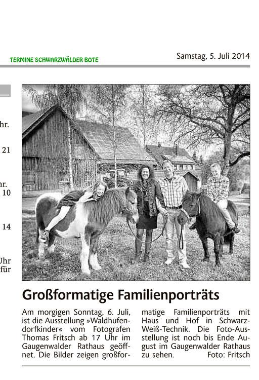 Ausstellung Waldhufendorfkinder
