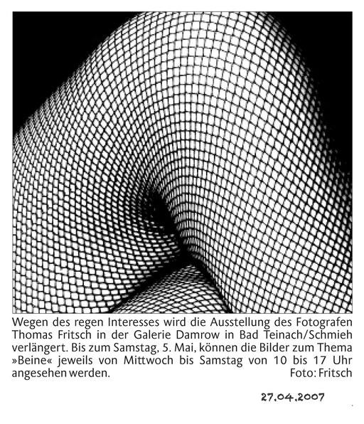 fotograf Fritsch Ausstellung Beine