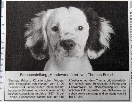 Hundevaritäten Ausstellung Fritsch