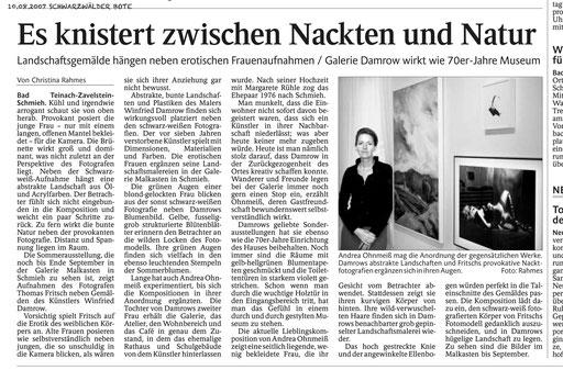 Galerie Damrow Ausstellung Fritsch 2007