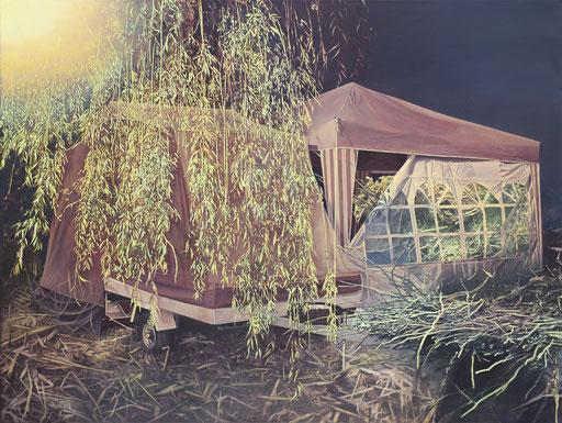 Lager, Acryl auf Leinwand, 150 x 200 cm, 2011