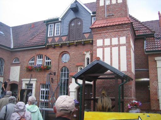 Alte Kornbrennerei in Nordhausen (Schaubrennerei).
