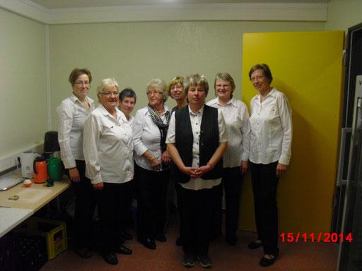 Helfende Hände im Hintergrund, die Damen vom Schützenverein Malsfeld