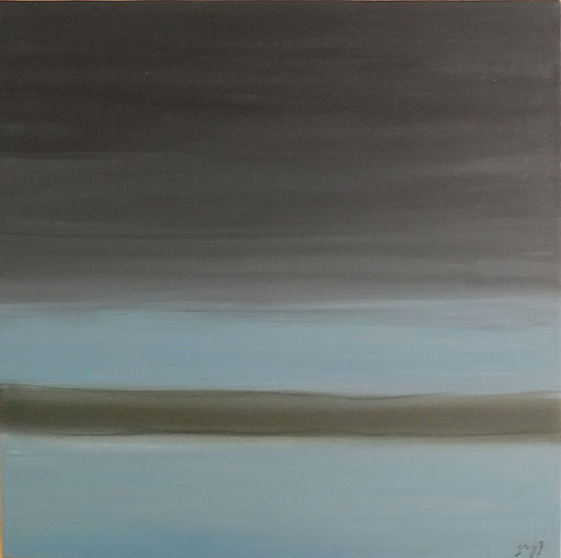 usedom I  2007, 60x60cm acryl on canvas