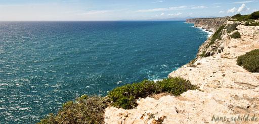 Steilküste auf Mallorca