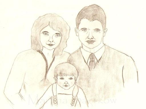 Meine Eltern und ich.