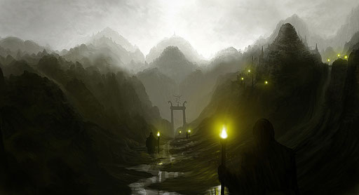 Valley of Inner Silence (Photoshop)