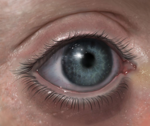 Child's Eye (Photoshop)