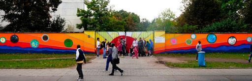 Mohr-Villa goes Camp - Ein Bild als Brücke