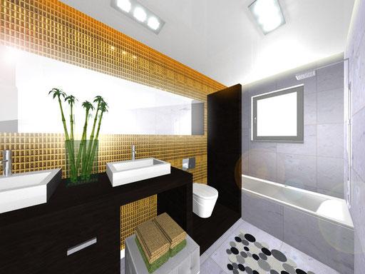 Hauptbadezimmer Obergeschoss